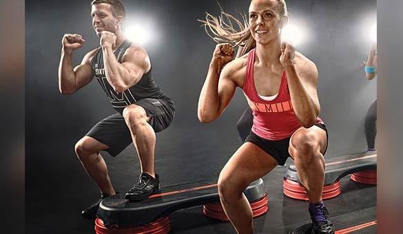 step cardio-salle de sport- oxyj'm-Eysine-gym-fitness